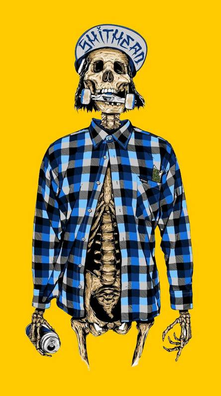 Skateboard Skeleton