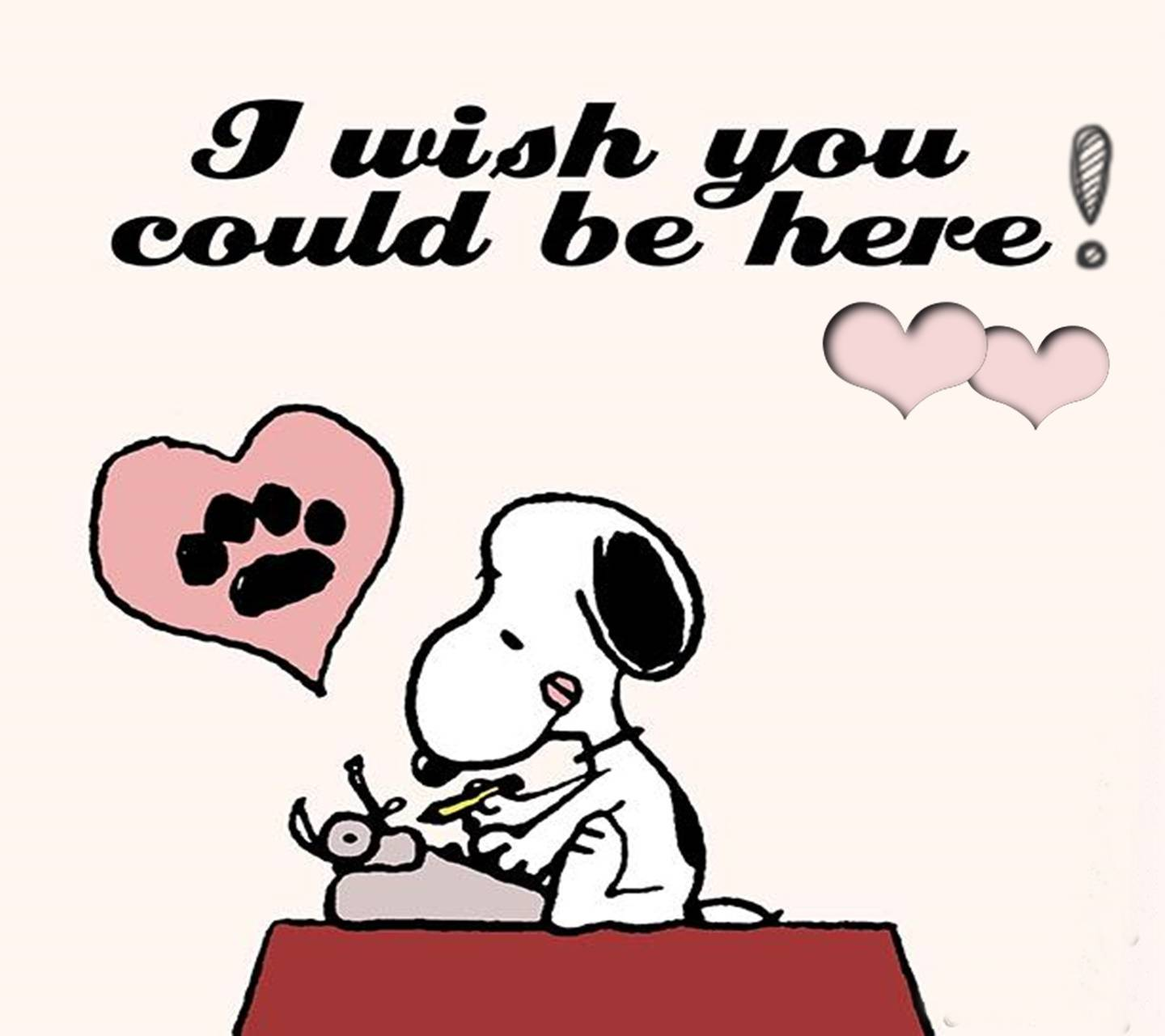 I Love You Snoopy