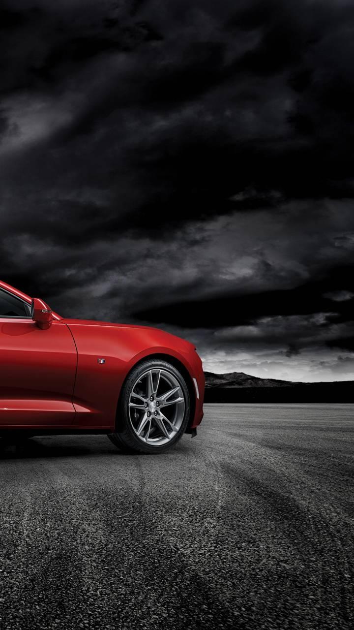 red Chevrolet