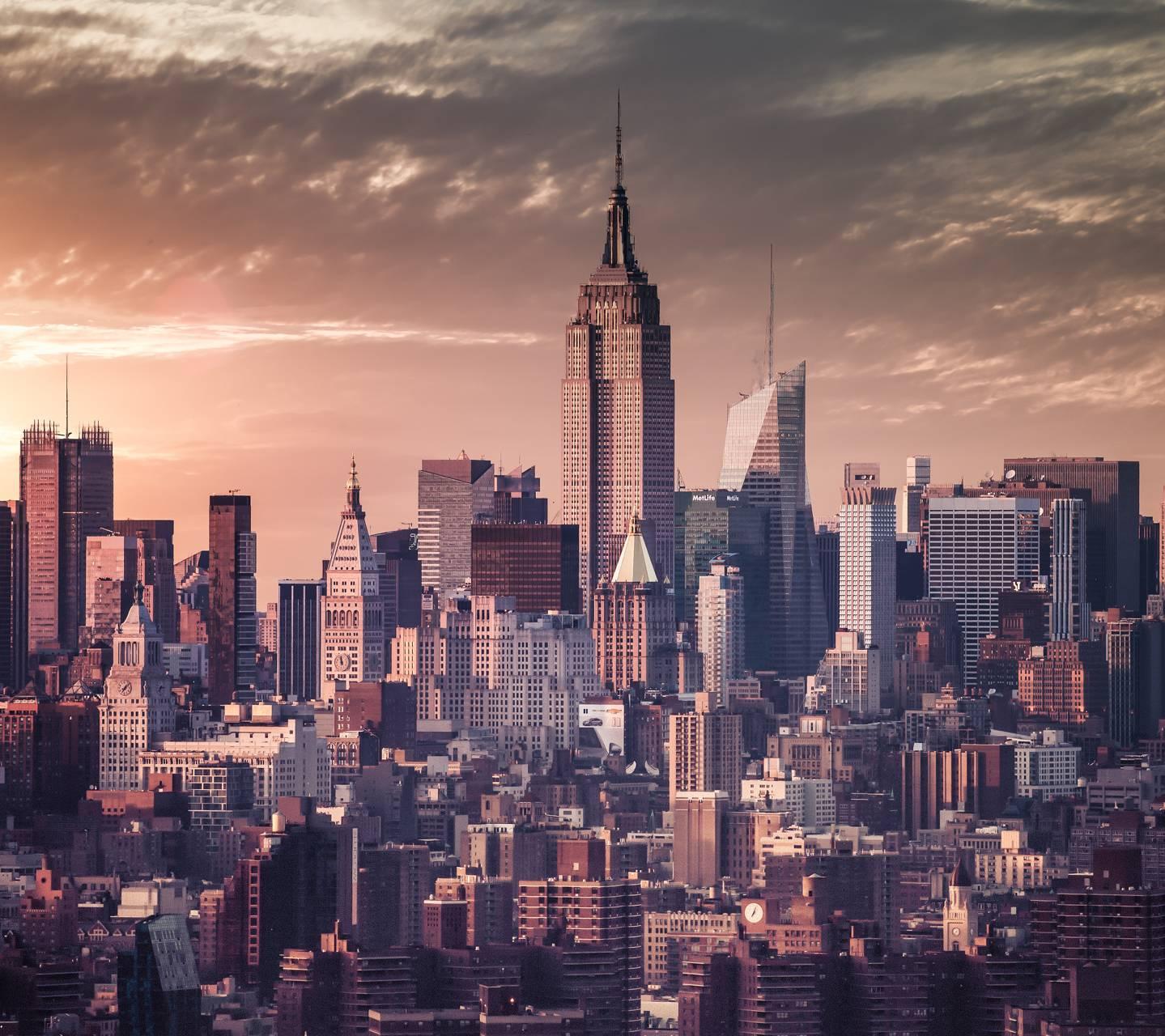 New York Skyline Wallpaper: New York Skyline 5K Wallpaper By Qwertz12333