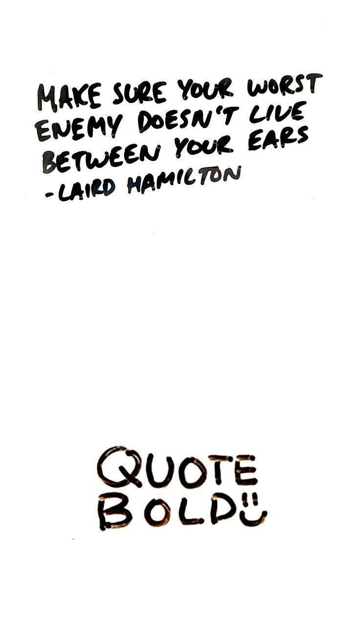 Laird Hamilton Quote