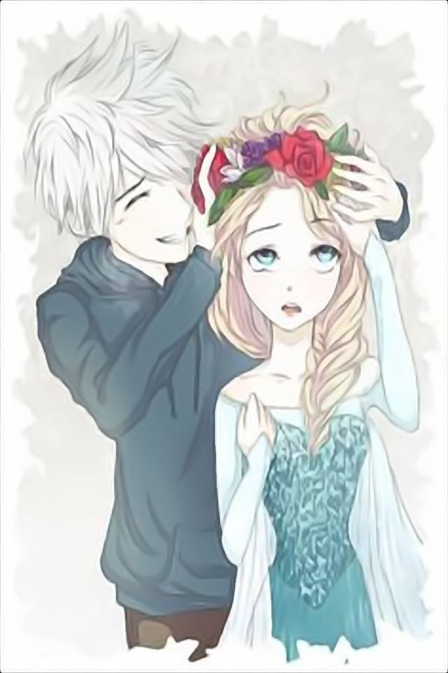 Elsa And Jack Frost Wallpaper By Luna1518 5c Free On Zedge
