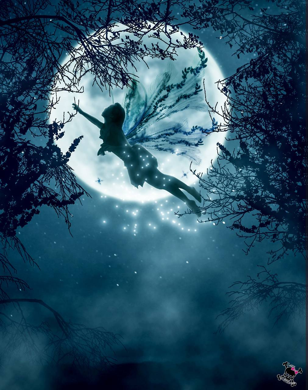 Blue Fairy Wallpaper By Harleypouk C1 Free On Zedge