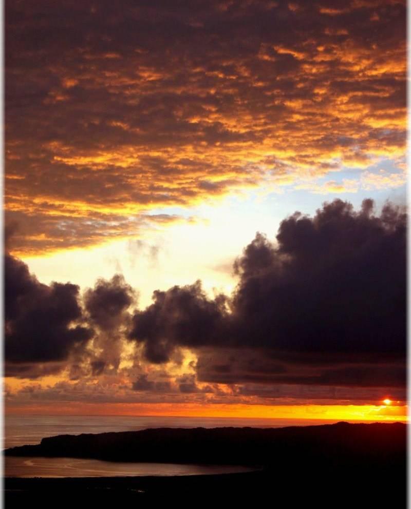 Sunset In Pacitan