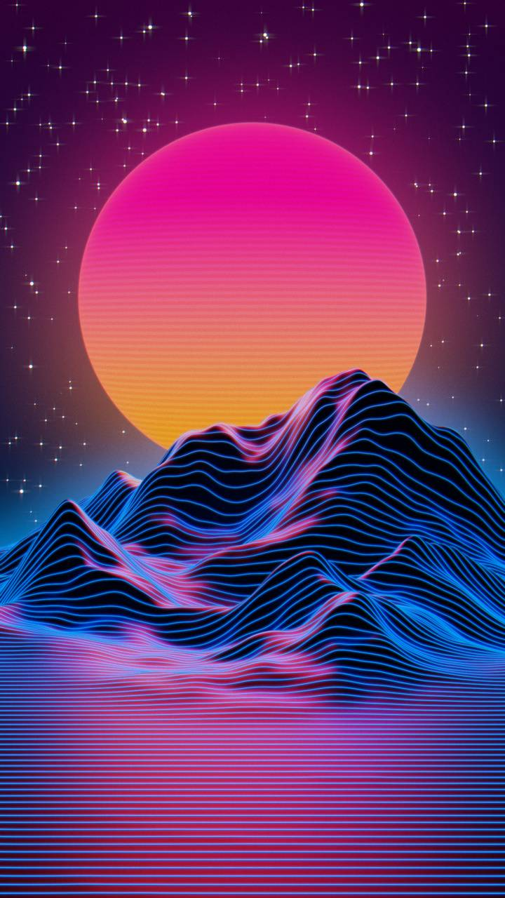 Synthwave Wallpaper By Higgsas 5a Free On Zedge
