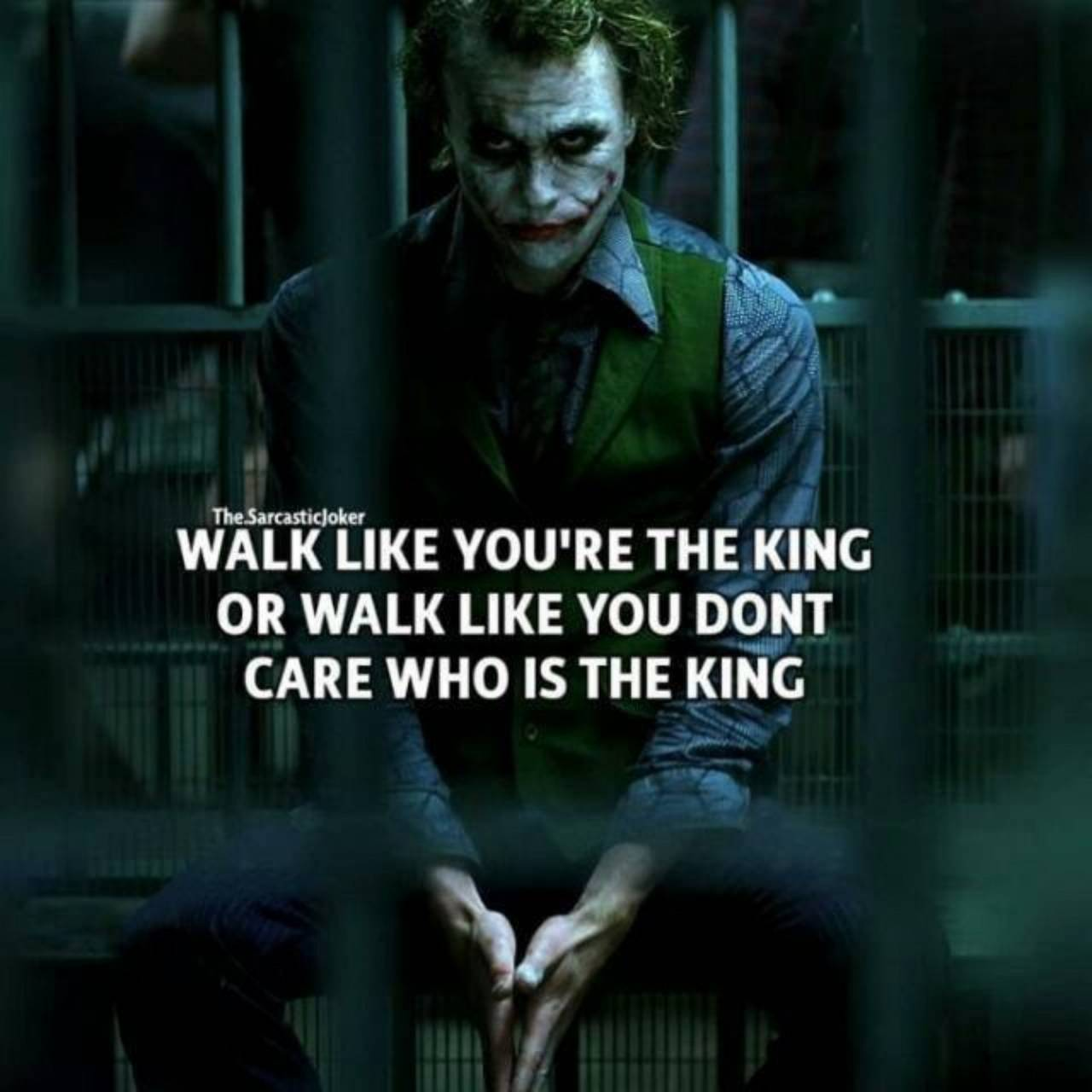 Joker motivation