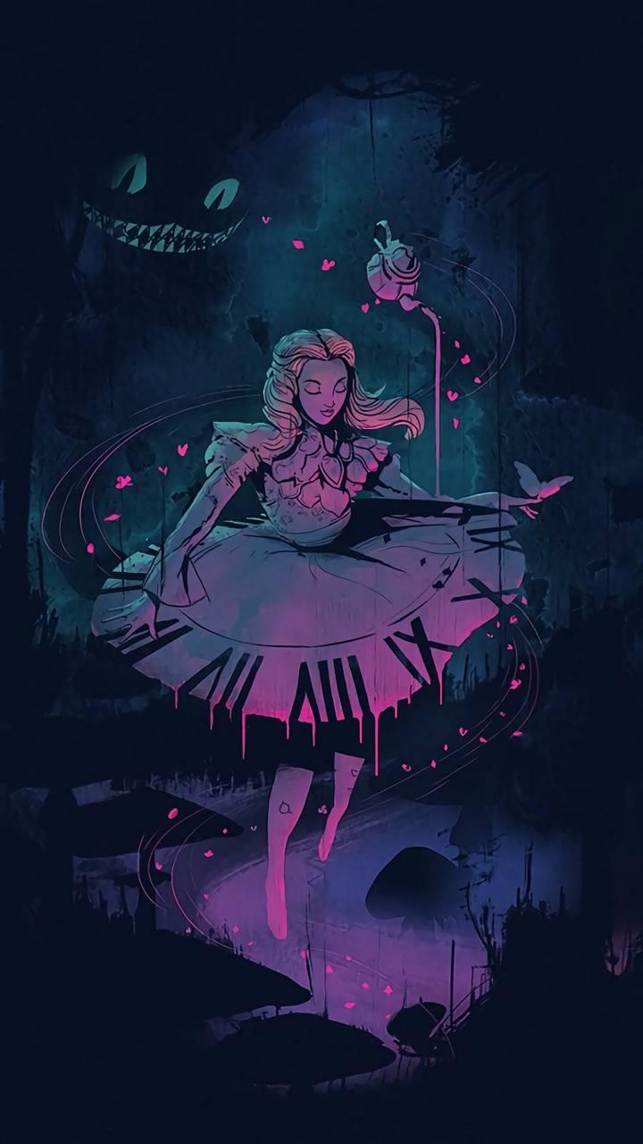 Alice In Wonderland Wallpaper By Titanio55 D8 Free On Zedge