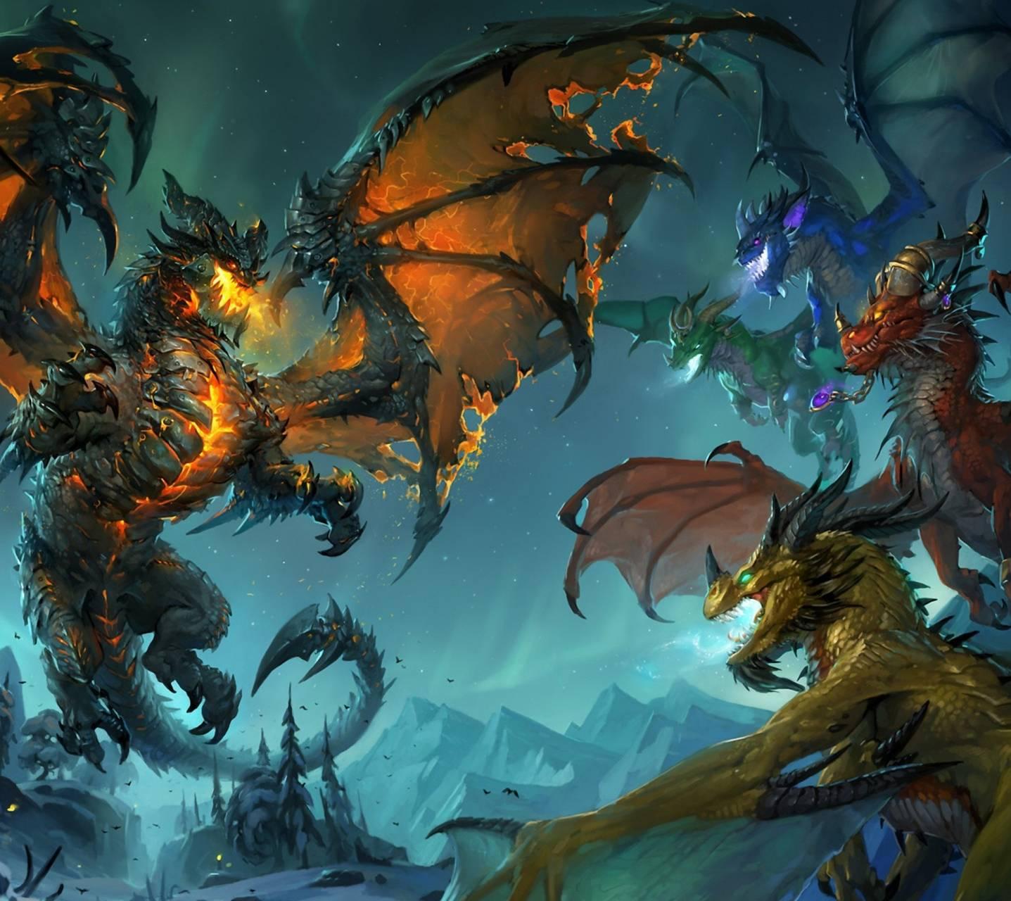 Warcraft Dragons