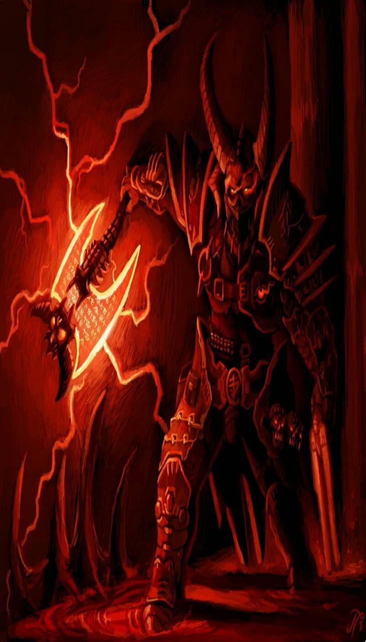 doom eternal marauder wallpaper