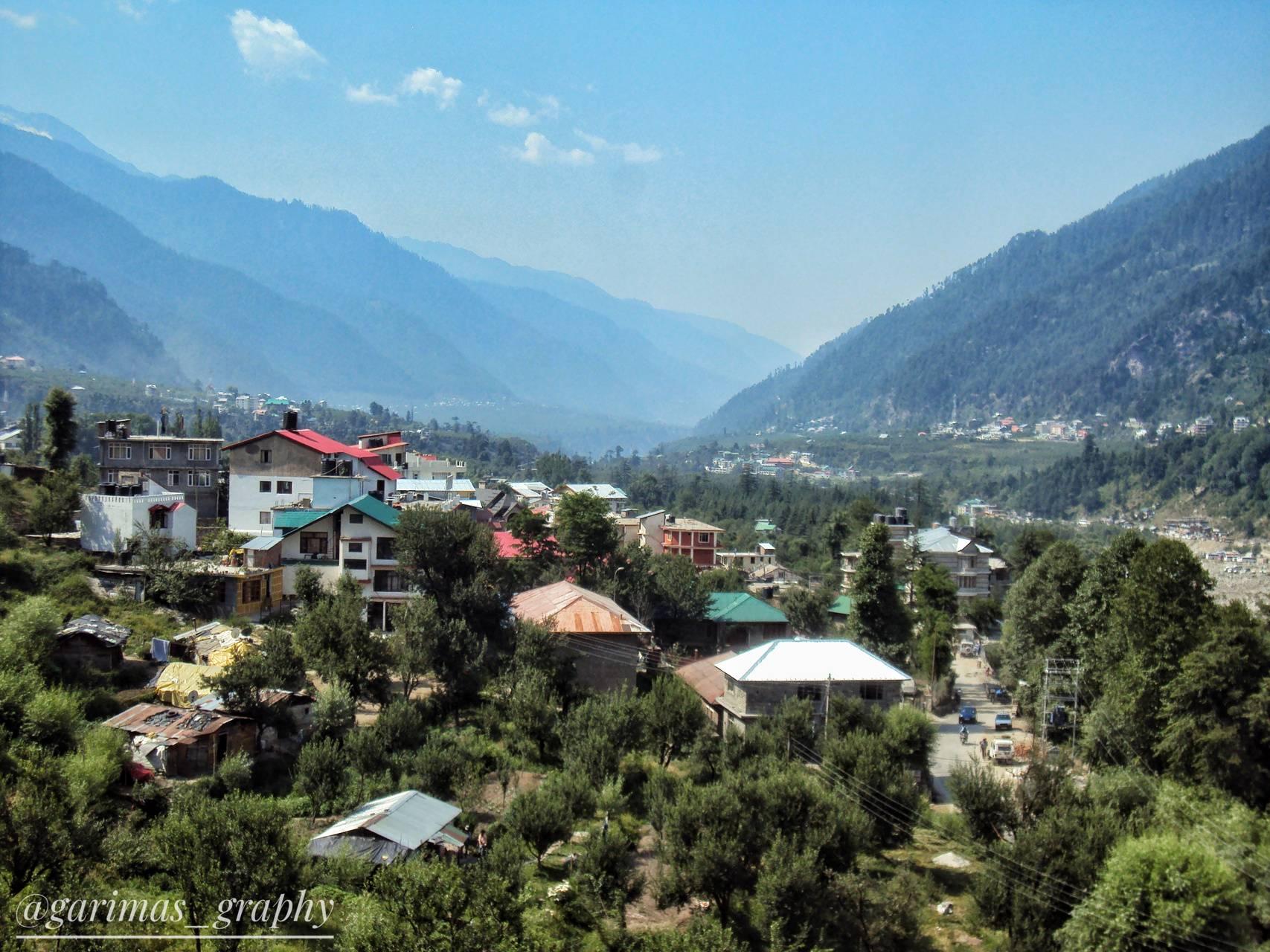 Manali view capture