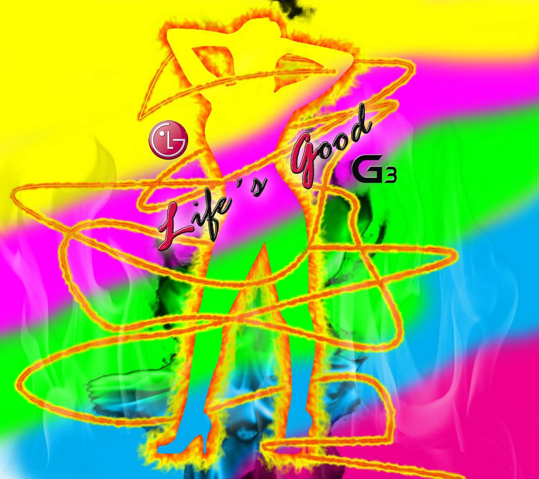 LG G3 fire dance