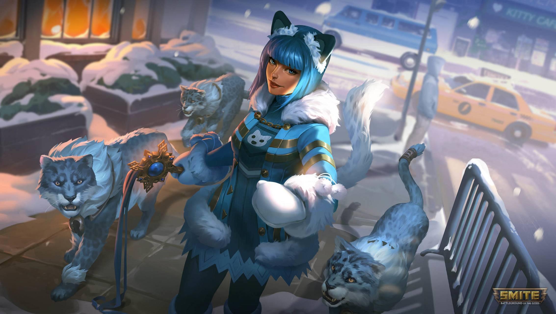 Bastet Snow Kitten