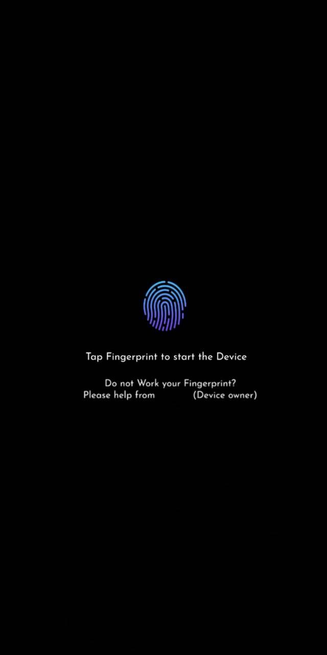 Tap Fingerprint