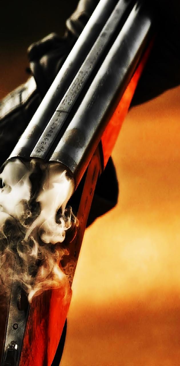 Shotgun After Fire