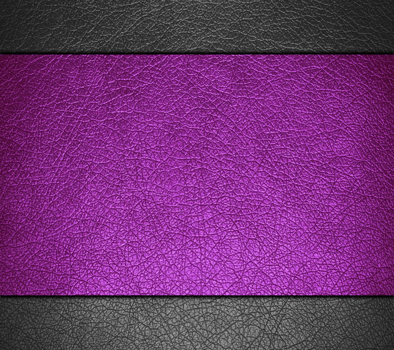 Purple Black Leather