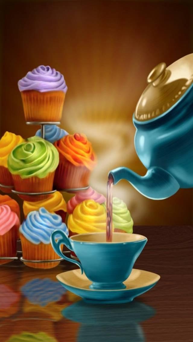 Приглашение на чай в картинках прикольные, видео поздравление днем