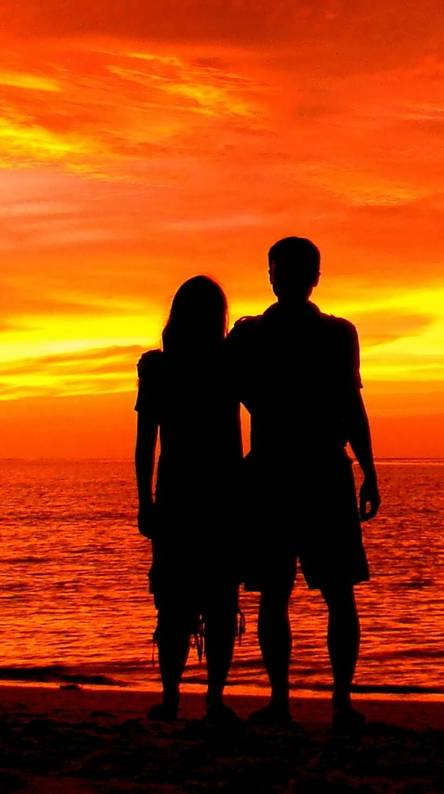 Sun Set Couple