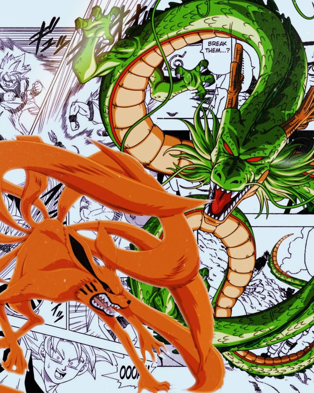 Dragon ball x Naruto