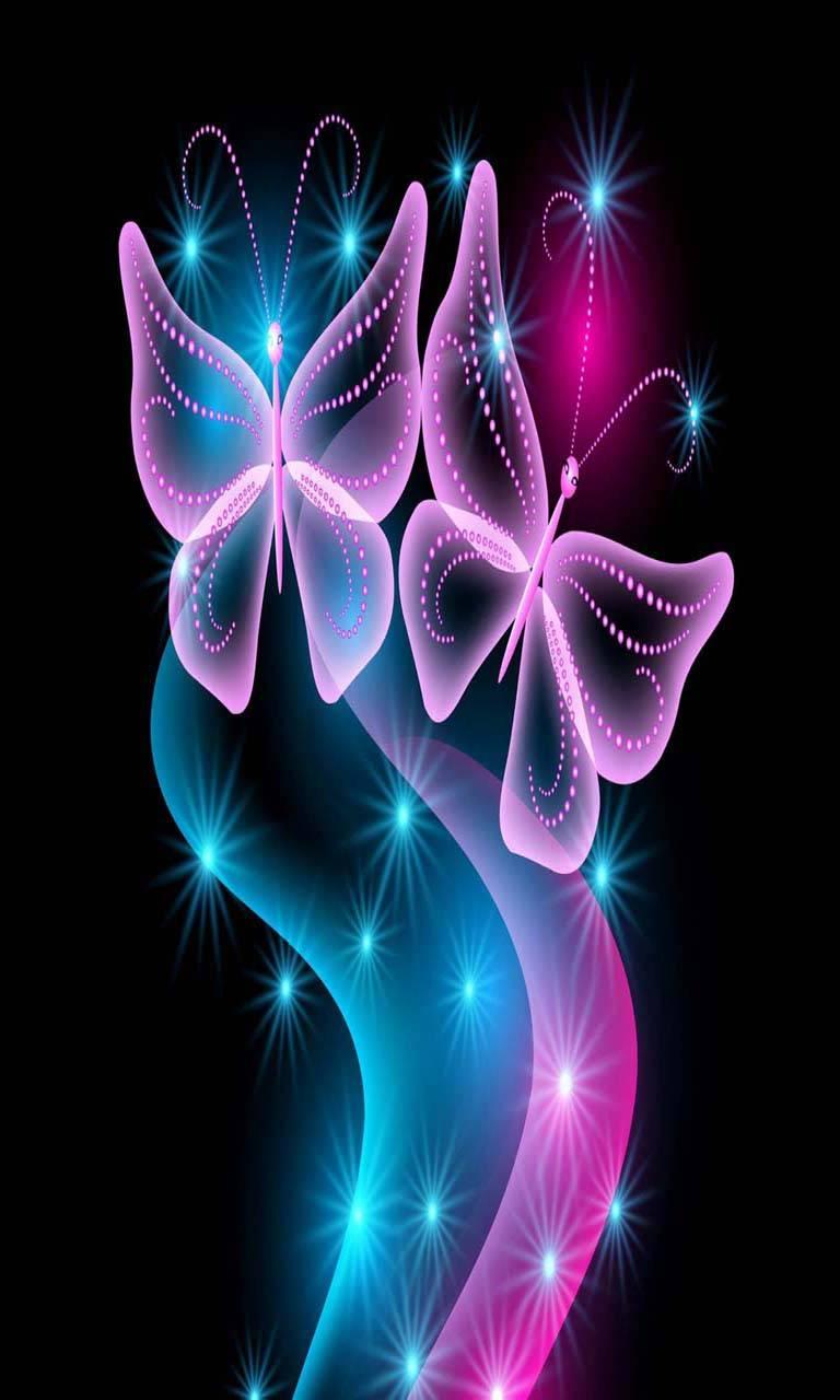 Butterflies Neon