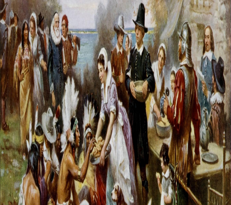 The First Thanksgivi