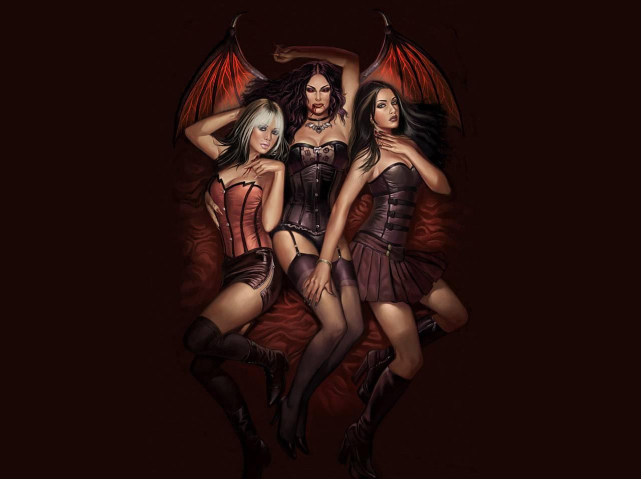 3 Girl Devils