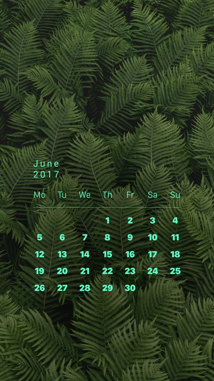 Jungle Calendar