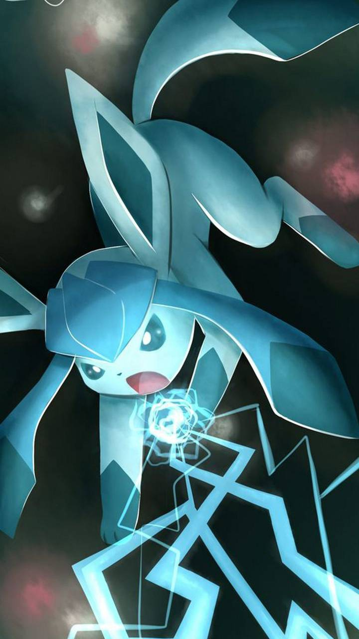 glaceon attacking