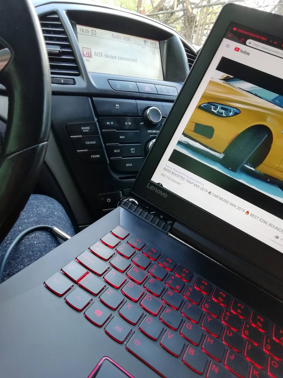 Lenovo with Opel
