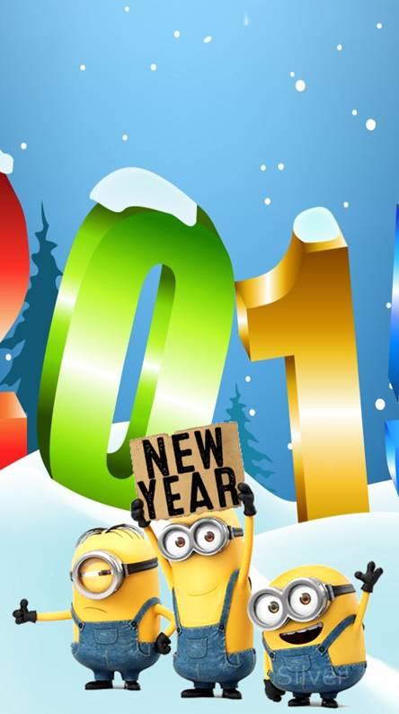 minion new year
