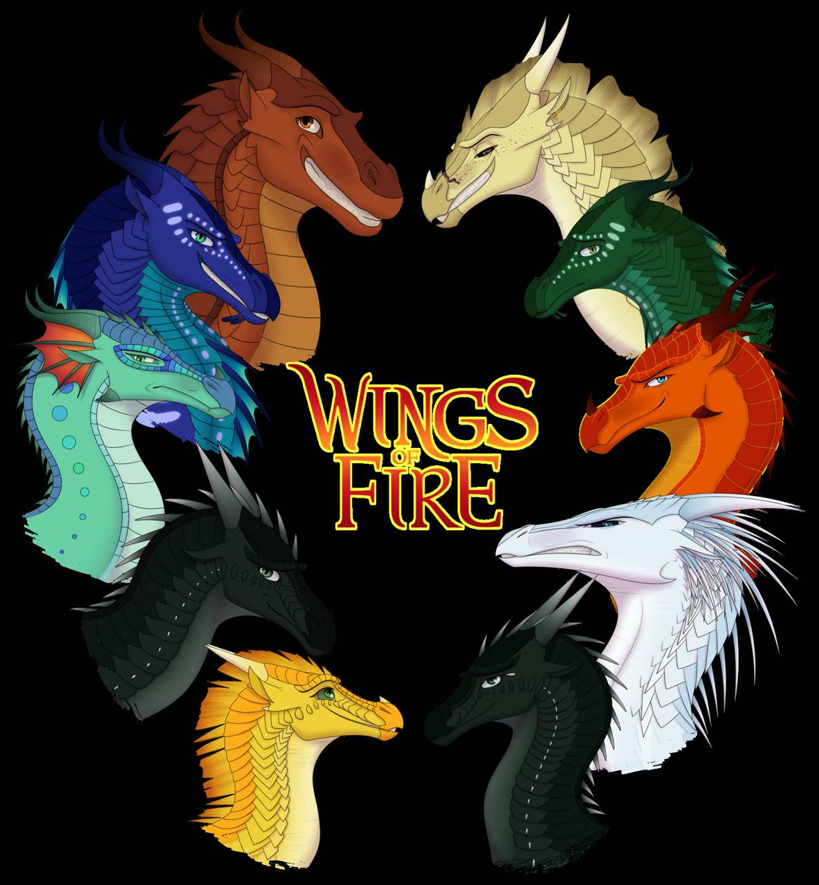Wings of fire wallpaper by 24470008 - 5e - Free on ZEDGE™