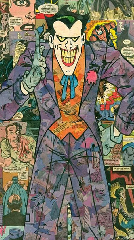 The Joker Comics Wallpapers