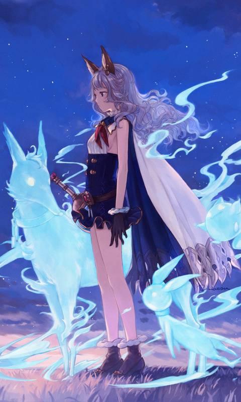 Blue spirits