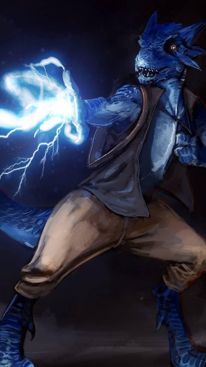 Blue Dragonborn