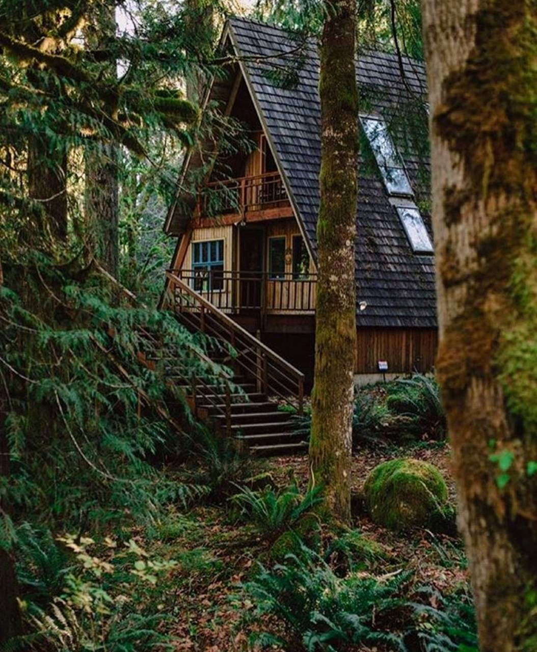 Cabin In The Woods Wallpaper By Melanie311 Ca Free On Zedge