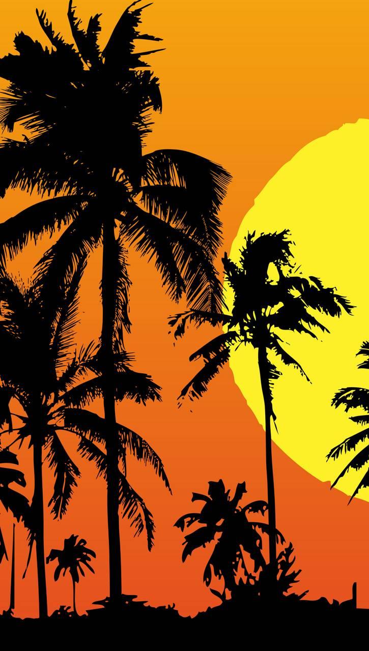 Flat Sunset