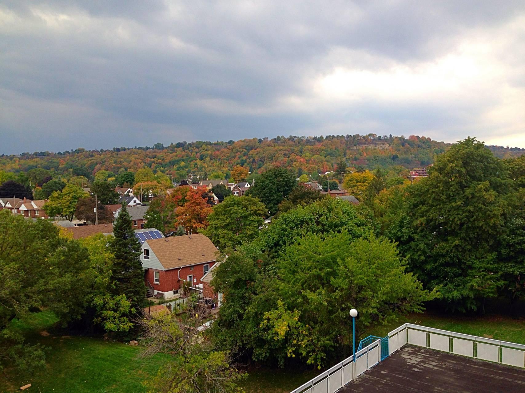 Escarpment horizon