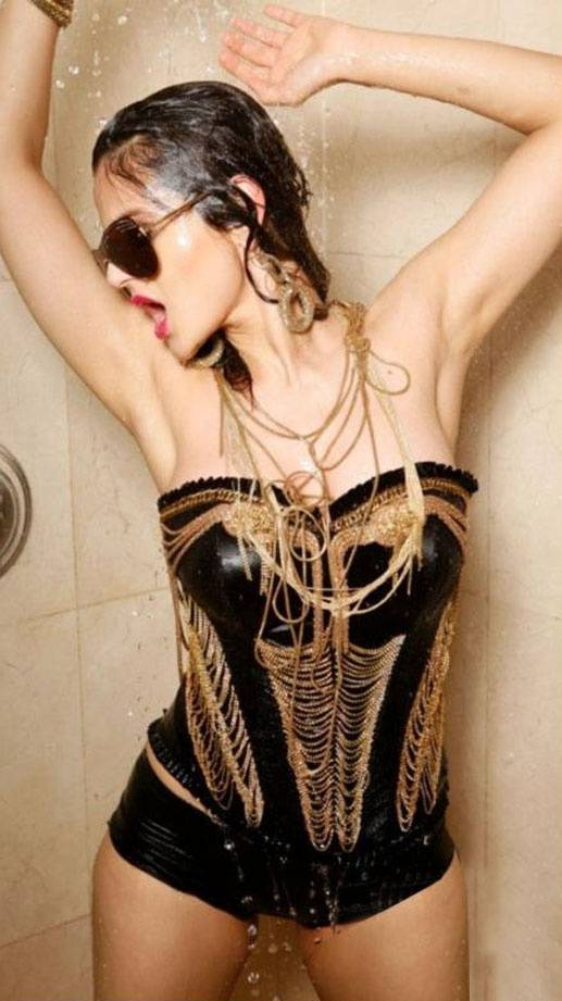 Amisha Patel-wet Hot