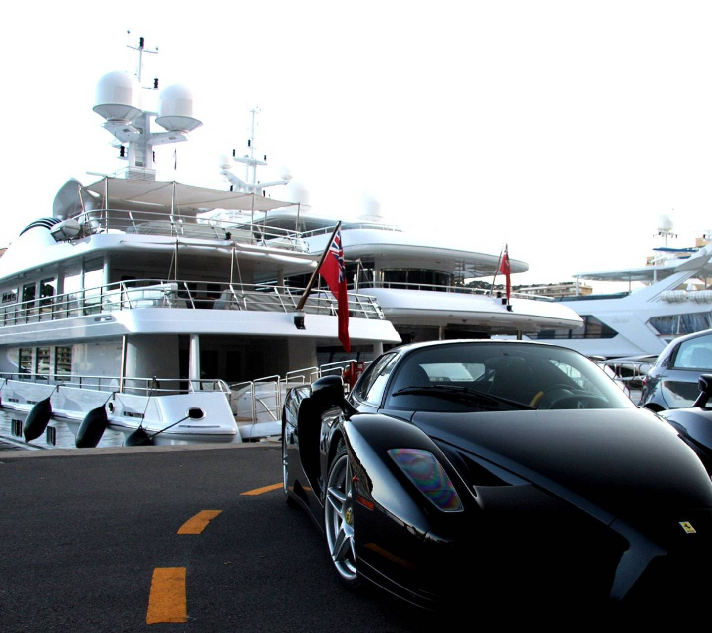 Monaco And Yachts