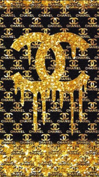 Chanel drip pattern