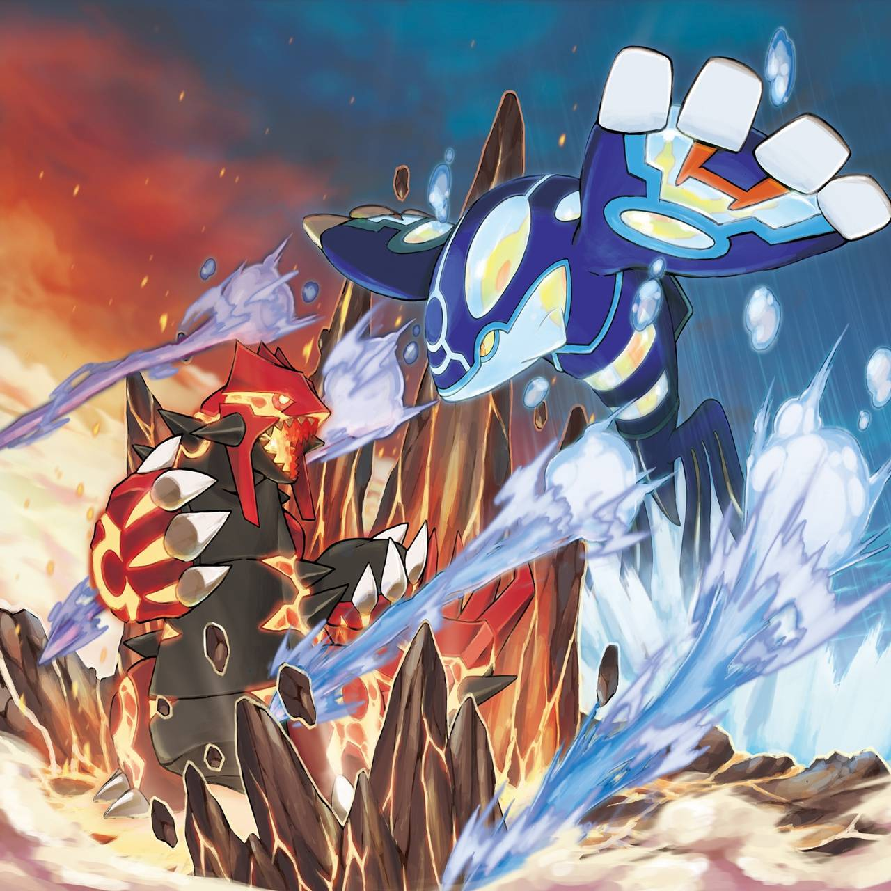 Omega Alpha Pokemon