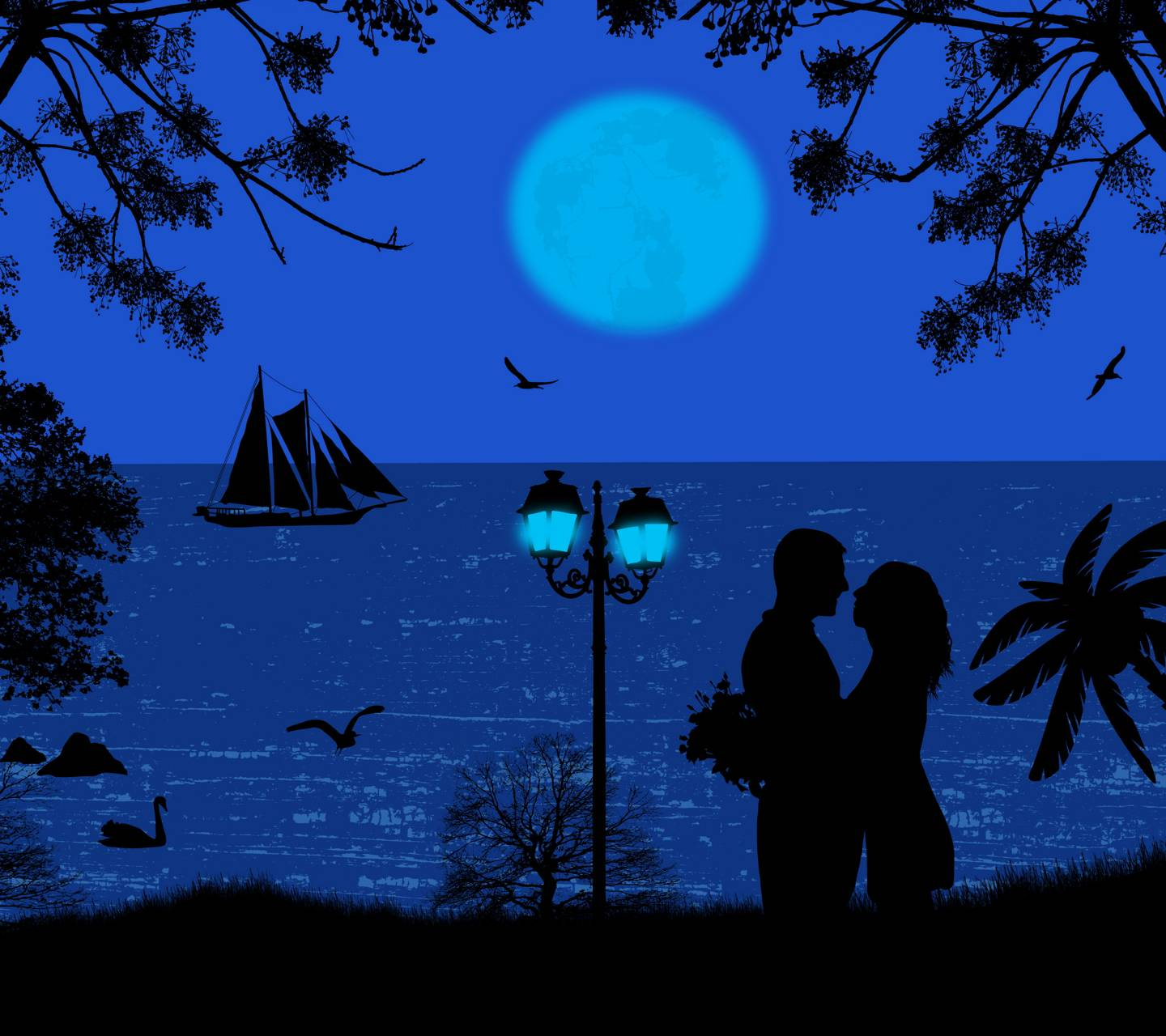 Silhouette Couple