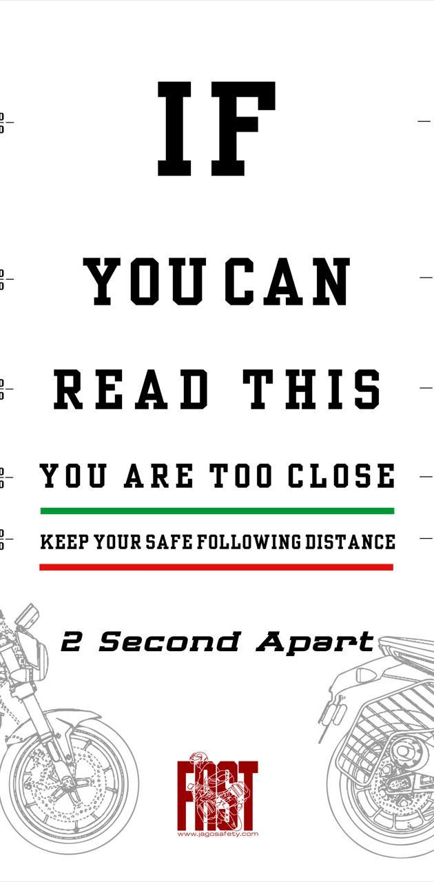2 second apart