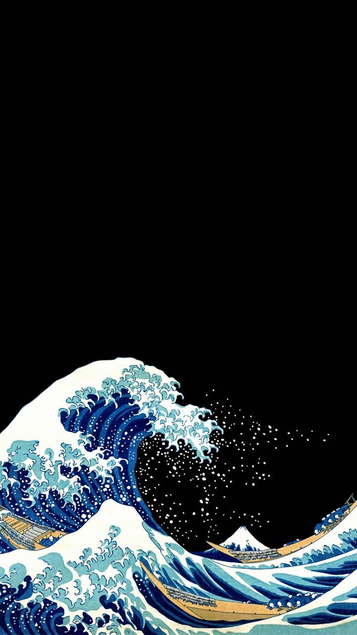 Waves amoled
