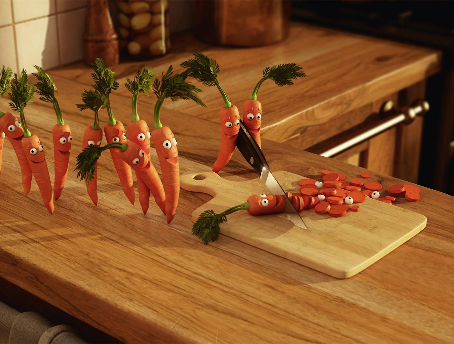 Bloodthirsty Carrots
