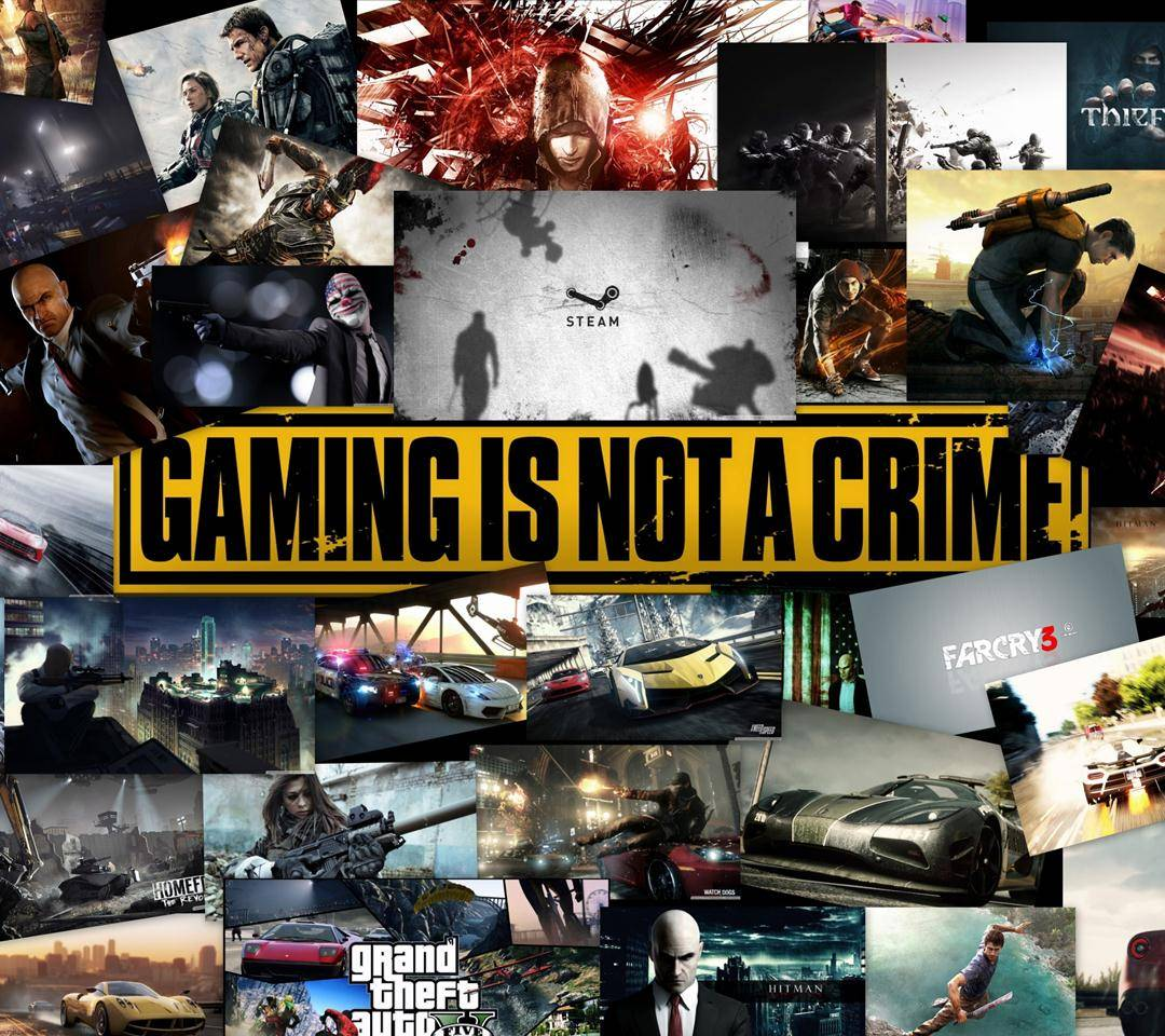 Gaming not Crime