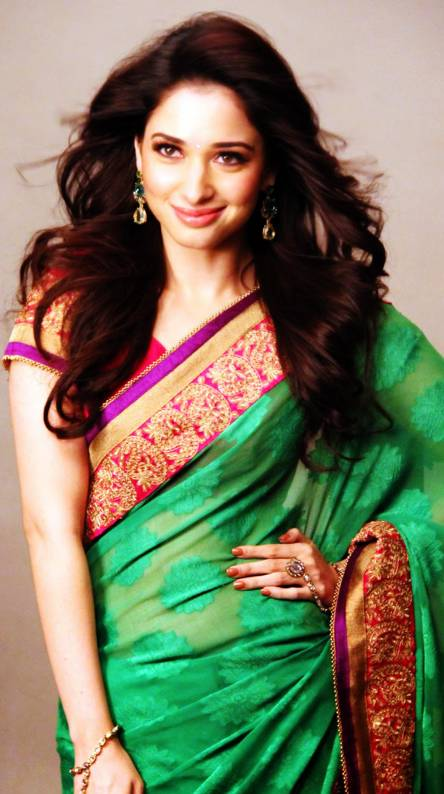 Tamanna Bhatia Saree Wallpapers Free By Zedge
