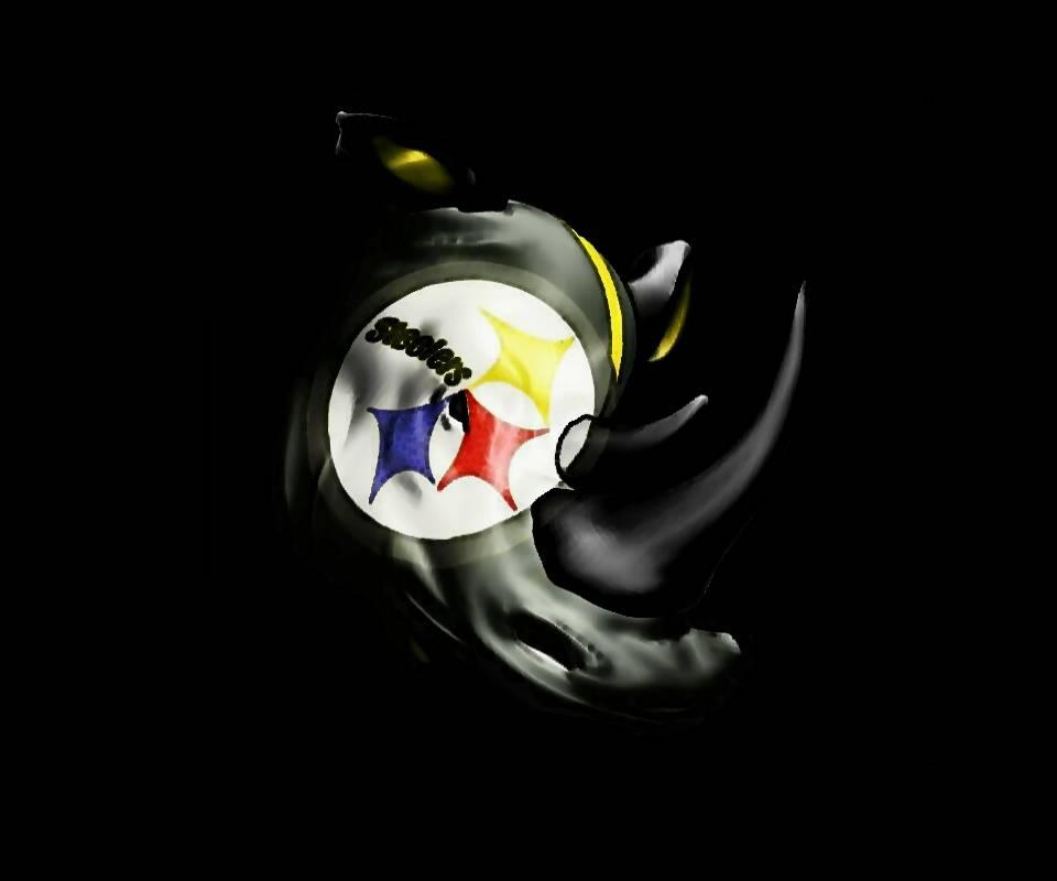 Steelers Plow Rhino
