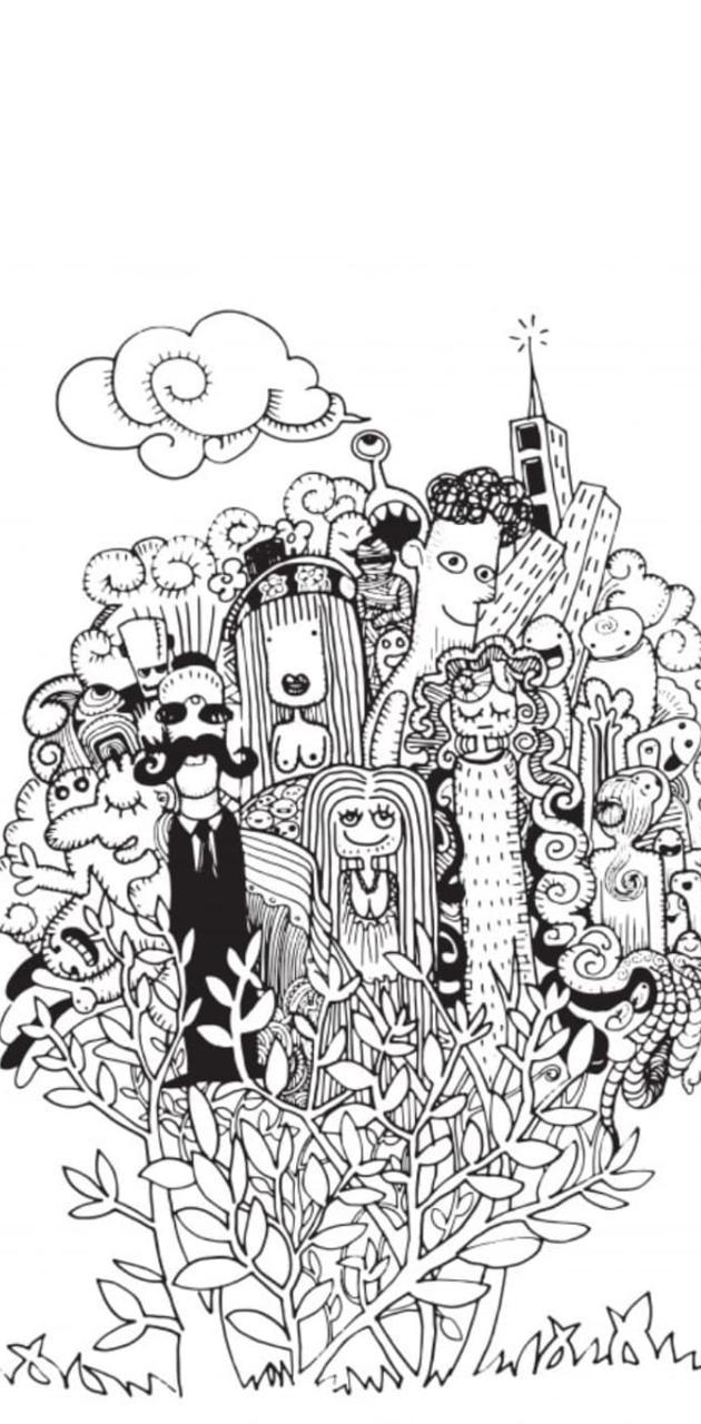 Doodle Art City