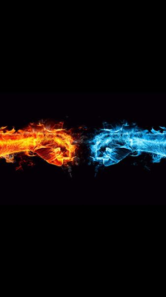 4K Fire And Water