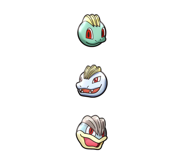 Machop Evolutions
